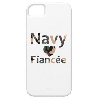 Navy Fiancee Heart Camo iPhone 5 Cover