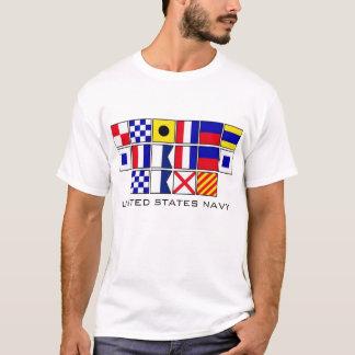 Navy Flags 2 T-Shirt