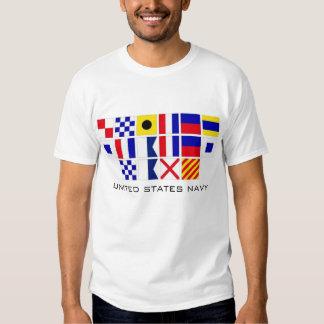 Navy Flags T-shirt