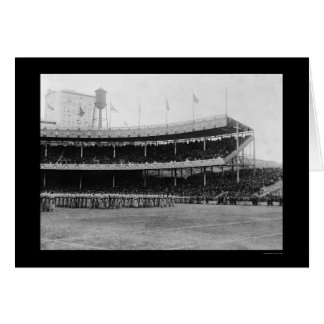 Navy Football Game 1916 Card