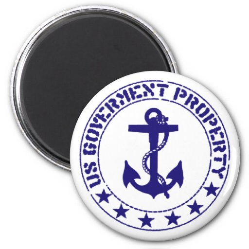 navy fridge magnets