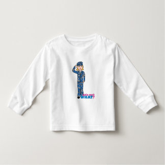 Navy Girl Toddler T-shirt