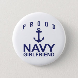 Navy Girlfriend Button