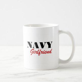 Navy Girlfriend Coffee Mug