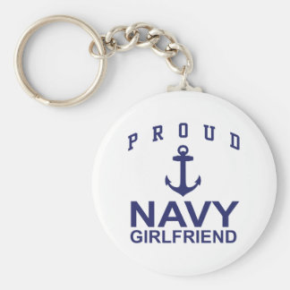 Navy Girlfriend Keychain