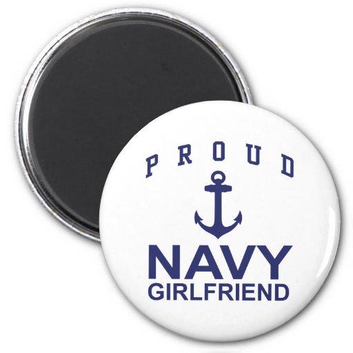 Navy Girlfriend Magnets