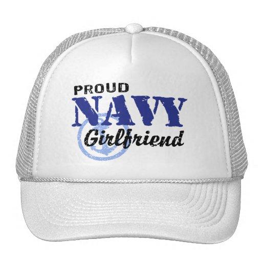 Navy Girlfriend Trucker Hat