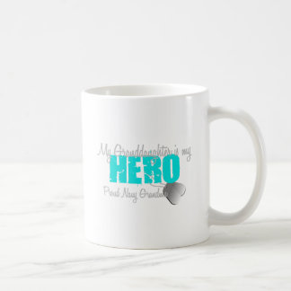 Navy Grandma Hero Granddaughter Coffee Mug