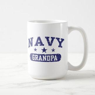 Navy Grandpa Coffee Mug