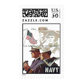 Navy Guardians of Freedom Postage Stamps