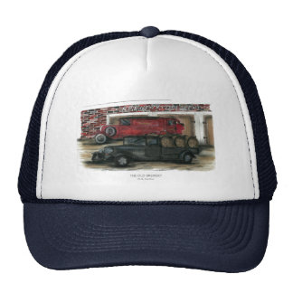 Navy Hat - The Old Brewery