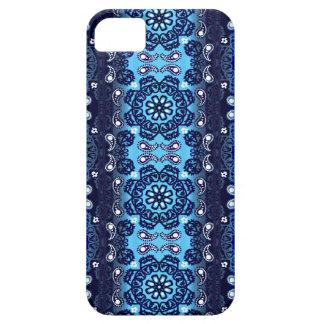 Navy Haze Bandana Stripe iPhone SE/5/5s Case