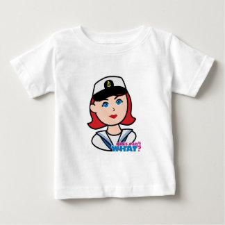 Navy Head - Light/Red Baby T-Shirt