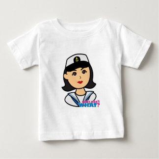 Navy Head - Medium Baby T-Shirt