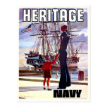 Navy Heritage Post Cards