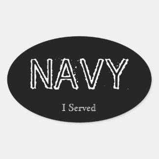 "Navy ""I served"" Stickers"