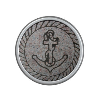 Navy Insignia Anchor Bumpster BlueTooth Speaker