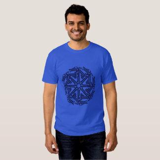 Navy Islamic Decoration Men's Basic Dark T-Shirt