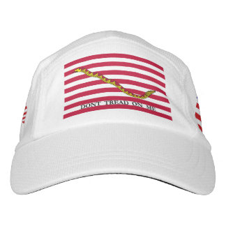 Navy Jack & 50-Star U.S. Flags - Don't Tread On Me Hat