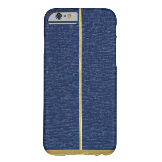Navy Leather Texturesd iPhone 6/6s Case