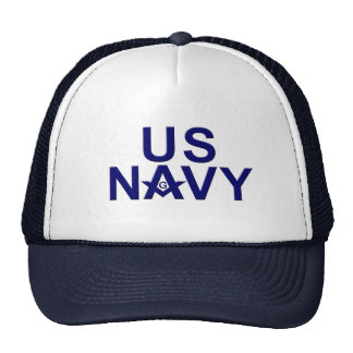 Navy Masons Trucker Hat