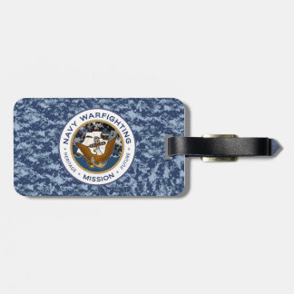 Navy Mission Luggage Tag