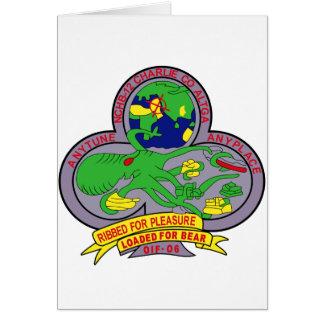 NAVY Mobile Construction Battalion NMCB-12 Militar Greeting Card