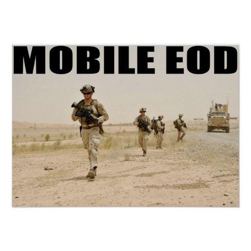 Navy Mobile EOD Poster