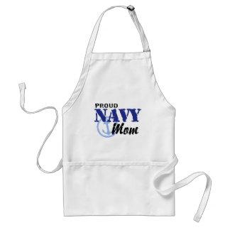 Navy Mom Adult Apron