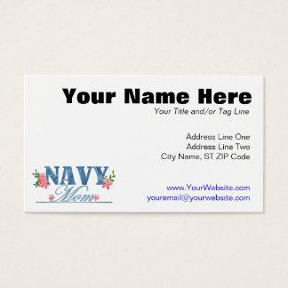 Navy Mom (Cammo) Business Card