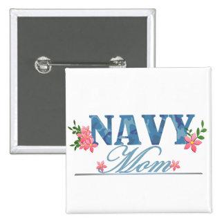 Navy Mom (Cammo) Pin