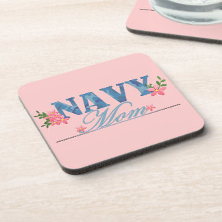 Navy Mom (Cammo) Drink Coaster