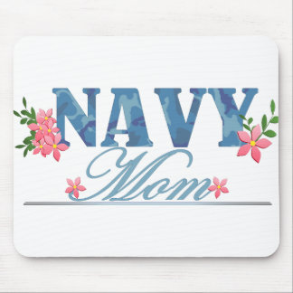 Navy Mom (Cammo) Mousepads
