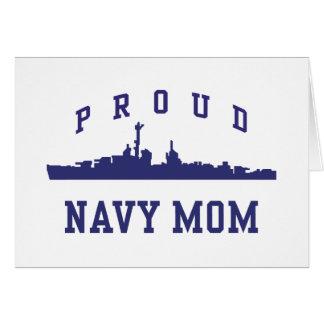 Navy Mom Card