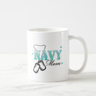 Navy Mom Coffee Mug