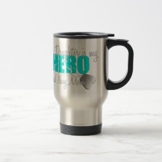Navy Mom Hero Daughter Travel Mug