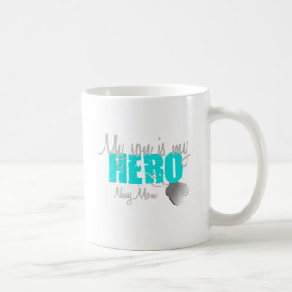 Navy Mom Hero Son Coffee Mug
