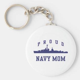 Navy Mom Key Chain