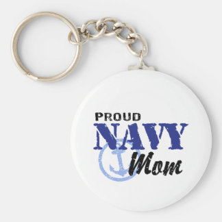 Navy Mom Keychain