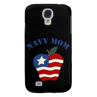 Navy Mom Patriotic Apple Samsung Galaxy S4 Case