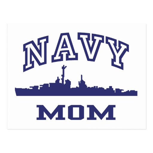 Navy Mom Postcards