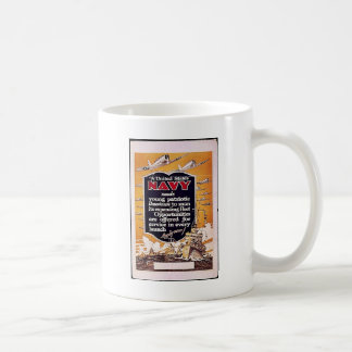 Navy Coffee Mugs