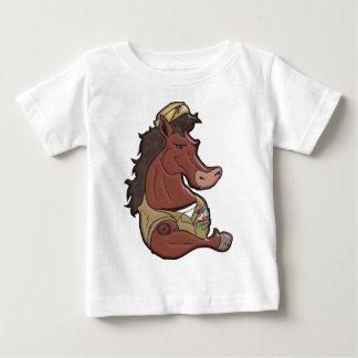 Navy Mustang Infant T-shirt