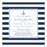 baby shower, stripes, pattern, nautical, anchor,