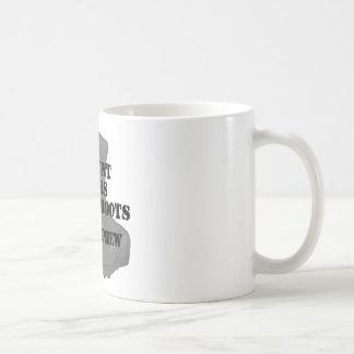 Navy Nephew CB Aunt Classic White Coffee Mug