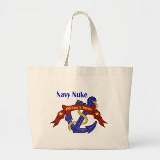 Navy Nuke ~Truman Jumbo Tote Bag