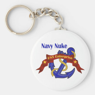 Navy Nuke ~ USS Enterprise Keychain