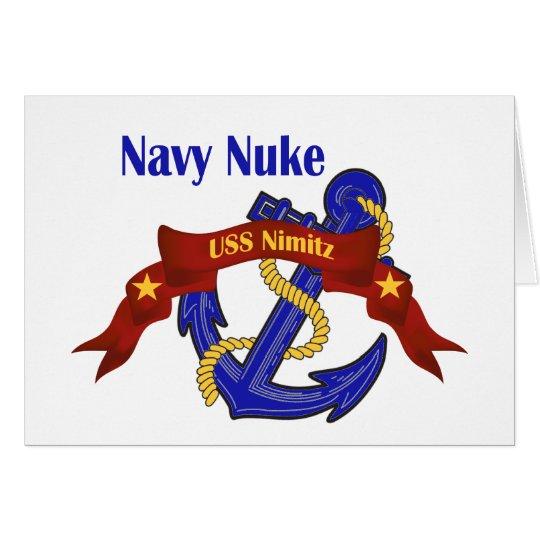 Navy Nuke ~ USS Nimitz Card