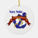 Navy Nuke USS Theodore Roosevelt Ceramic Ornament
