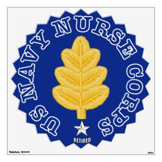 Navy Nurse Corps RAdm Retired Wall Decal